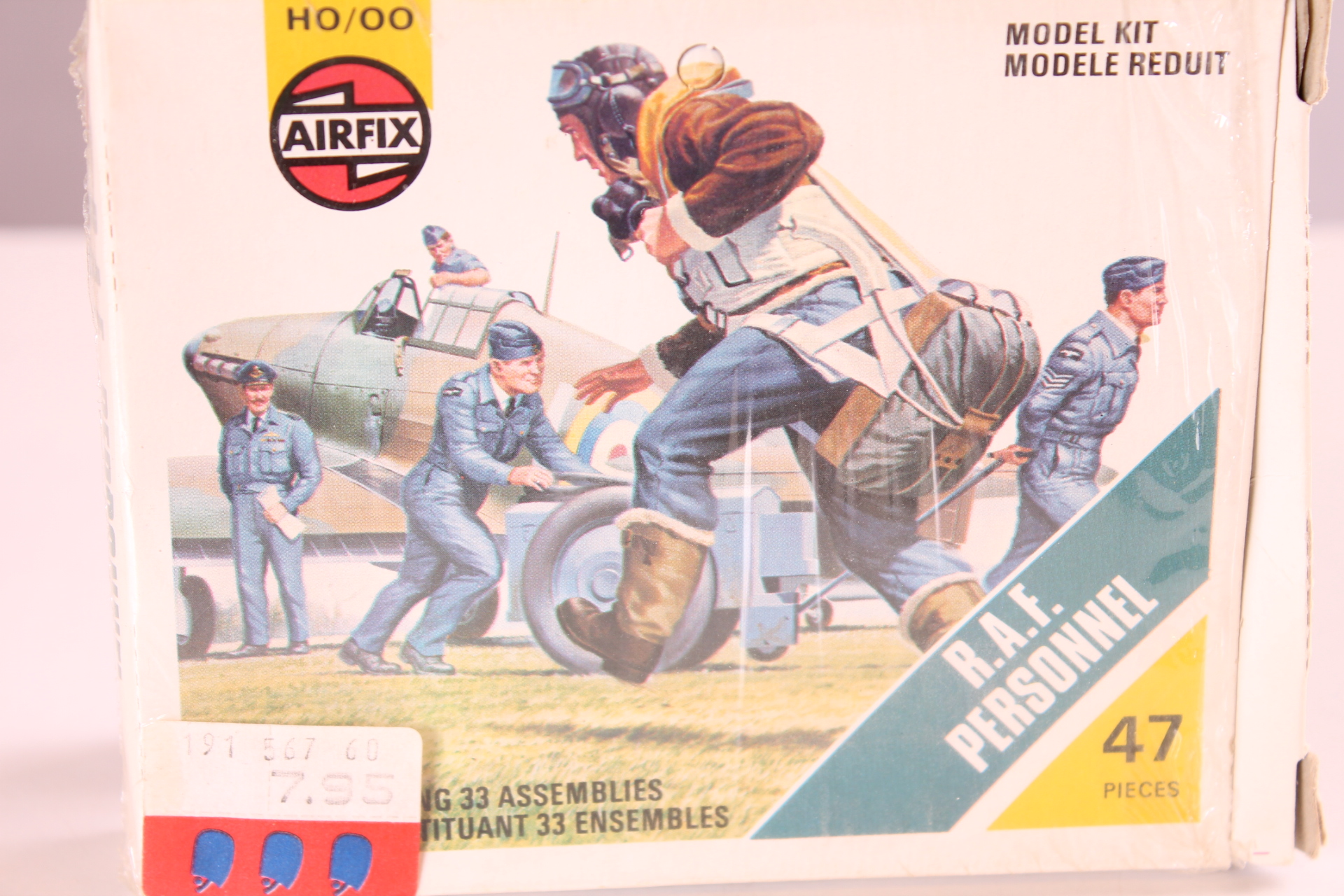 *1/87 Airfix 01747-5 HO/OO R.A.F. Personnel
