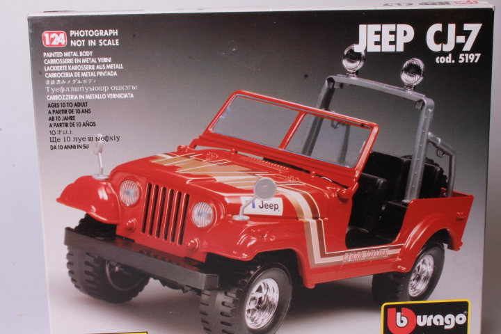 *1/24 Burago Metalkit 5197 HJeep CJ-7