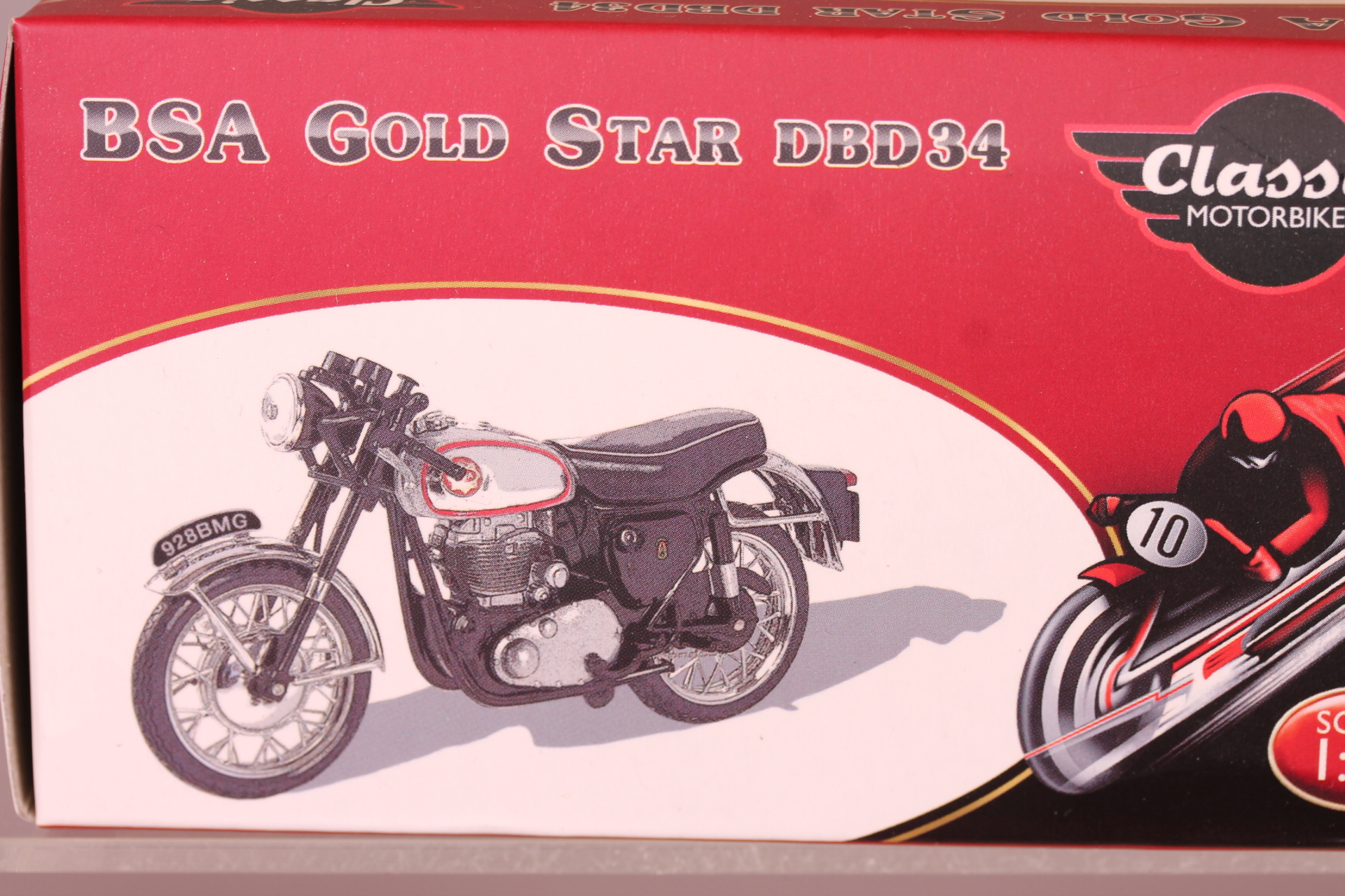 *1/24 Magazine Models BSA Gold Star DBD34