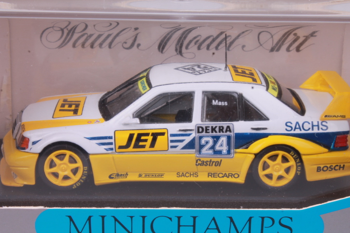 *1/43 Minichamps 13122 Mercedes Benz 190 E EVO 2 #24