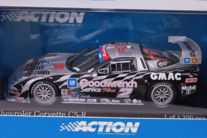 *1/43 Action 1999 Chevrolet Corvette C5-R Daytona #2