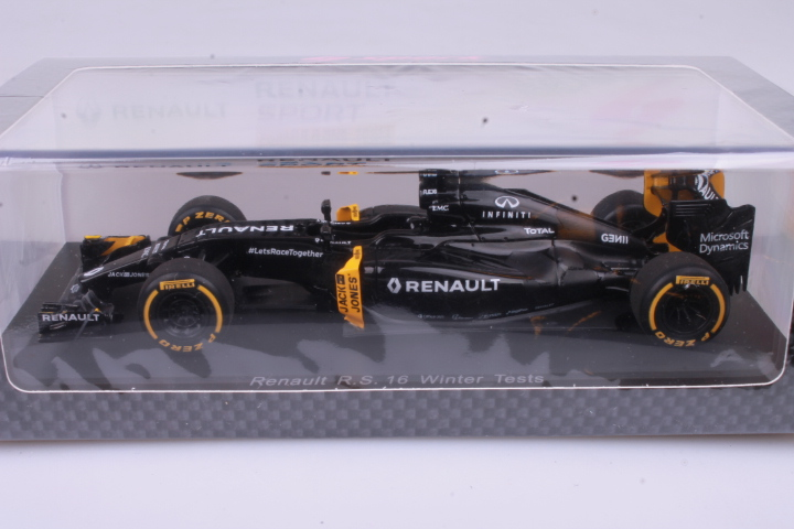 1/43 Spark 2016 Renault R.S. Winter Tests Magnussen