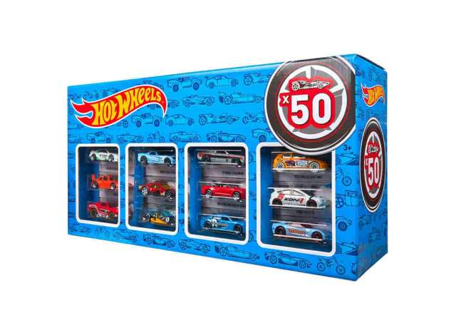 1/64 Hotwheels 50-piece BOX