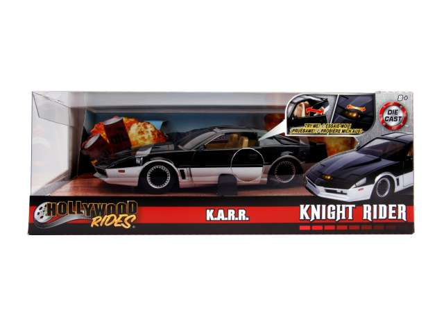 1/24 Jada 1982 Pontiac Firebird Knightrider KARR with working lights