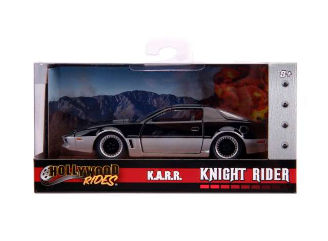 1/32 Jada 31116 1982 Pontiac Firebird Knightrider KARR working lights