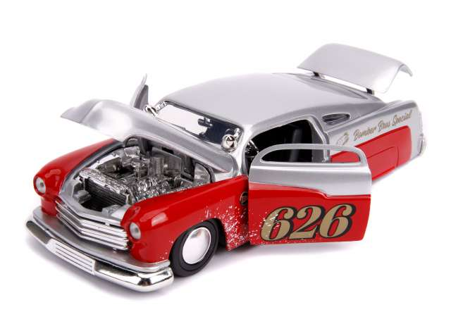 1/24 Jada 31454 1951 Mercury candy silver/red