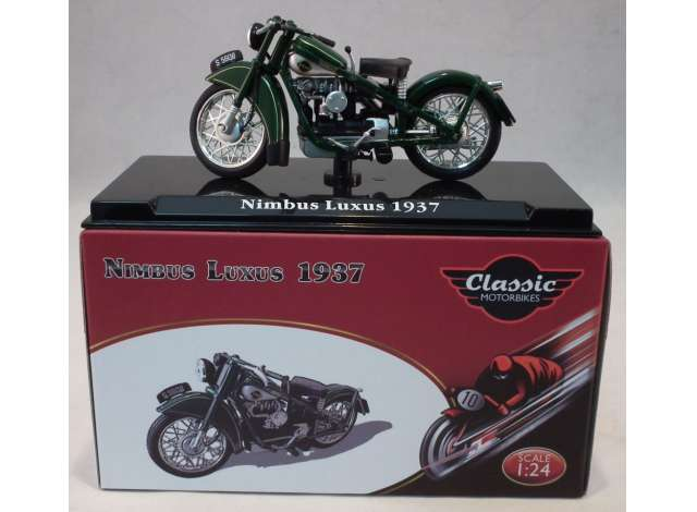 1/24 Magazine Models 1937 Nimbus Luxus Green