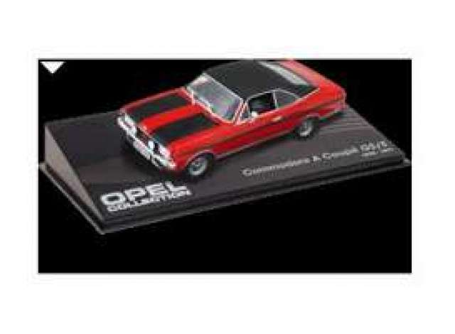 1/43 Magazine Models 1970 Opel Commodore A Coupe GS/E red/black