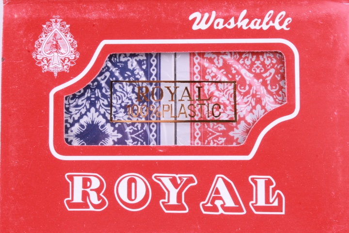 *Royal Plastic Playing Cards 2-pack