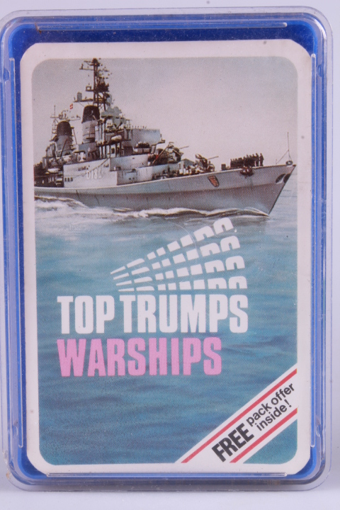 *Top Trumps 4-Card Game - Warships
