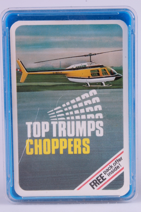 *Top Trumps 4-Card Game - Choppers