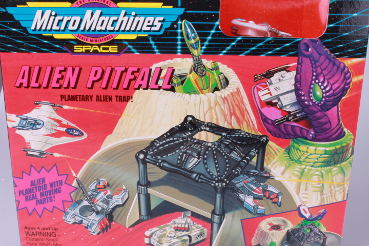 *Micro Machines Alien Pitfall