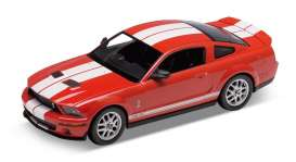 1/24 Welly 22473 2007 Shelby Cobra GT500 red