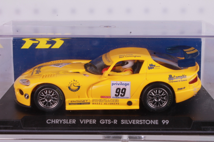 *1/32 FLY A8 Chrysler Viper GTS-R Silverstone 1999