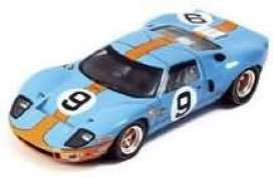 1/43 Spark 1968 Ford GT 40 Le Mans Winner #9 Gulf